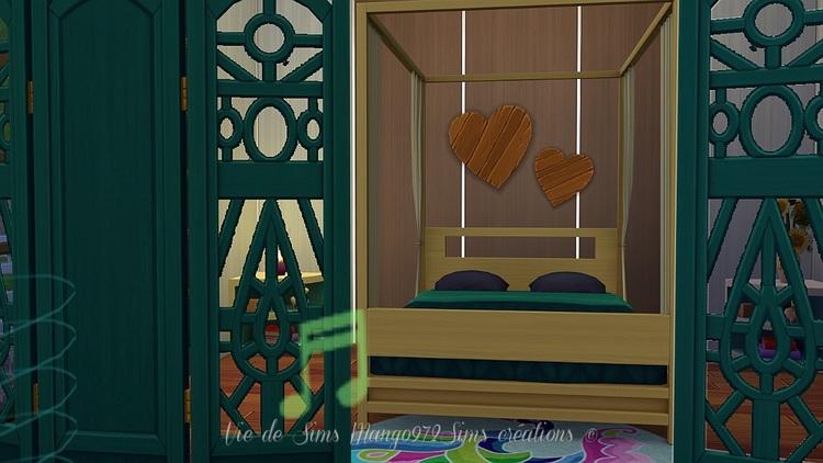La villa Groseilles, maison atypique #Sims4 sans CC