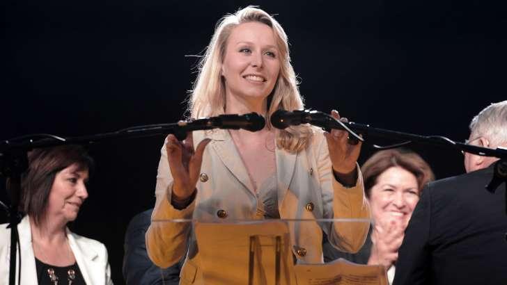 """Marion Maréchal-Le Pen veut créer une """"académie de sciences politiques"""""""