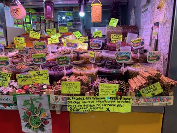 Malaga - marché municipal
