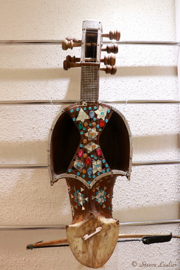 Musée de la musique : les instruments régionaux, Gheychak, Ispahan