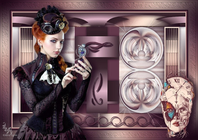 ST0007 - Tube femme steampunk