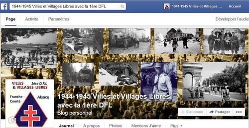 """* Lancement le 16 août du Face Book """"Villes et Villages libres avec la 1ère DFL"""""""