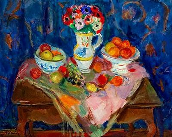 Charles Camoin, Fleurs et fruits