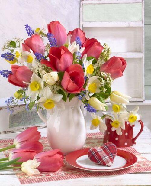 Bouquets de printemps