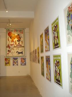 Exposition : Affiches au Carré : Fêtes Baiona et San Fermin