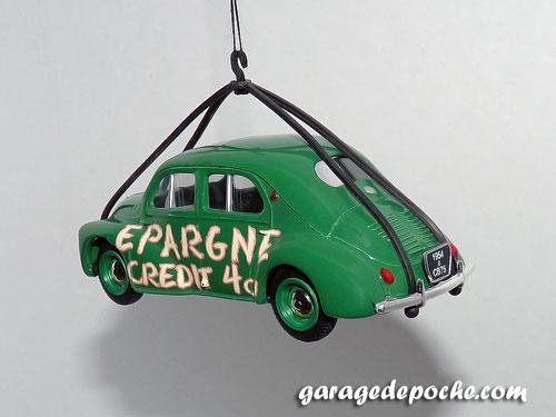 Renault 4cv Epargne Crédit