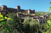 Petite visite de Brousse le Château (Aveyron)