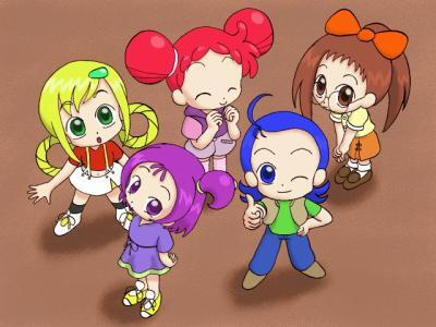 ° le groupe magical doremi sans flora °