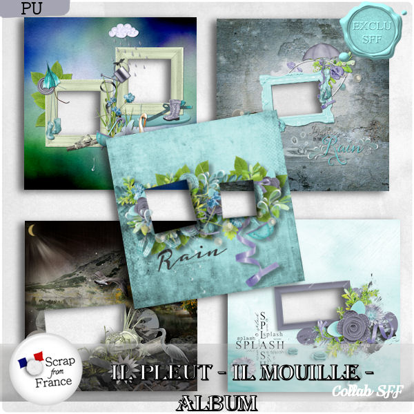 Il pleut, il mouille ! New collab Scrap From France !