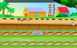 Jouer à Ambulance level crossing escape
