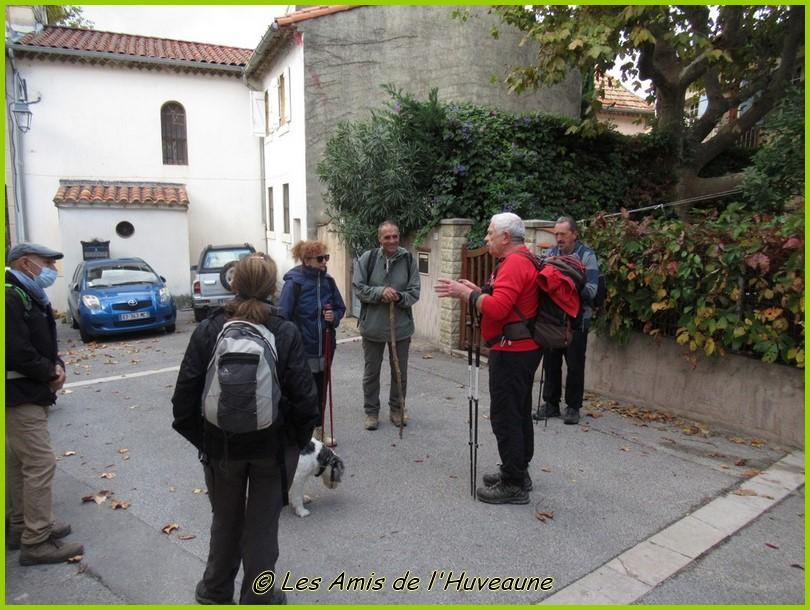 Les AH sur les traces de marcel Pagnol à Aubignane