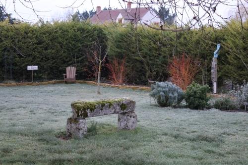 Le jardin en mode hiver