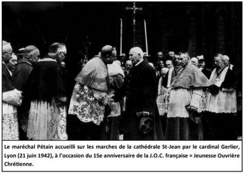 """La ville de Lyon  toujours à l'heure  du Régime de Vichy ? Colloque """"Pétain"""""""