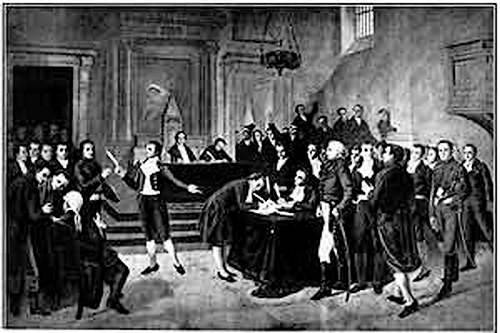 26 Août 1789 : Déclaration des droits de l'homme