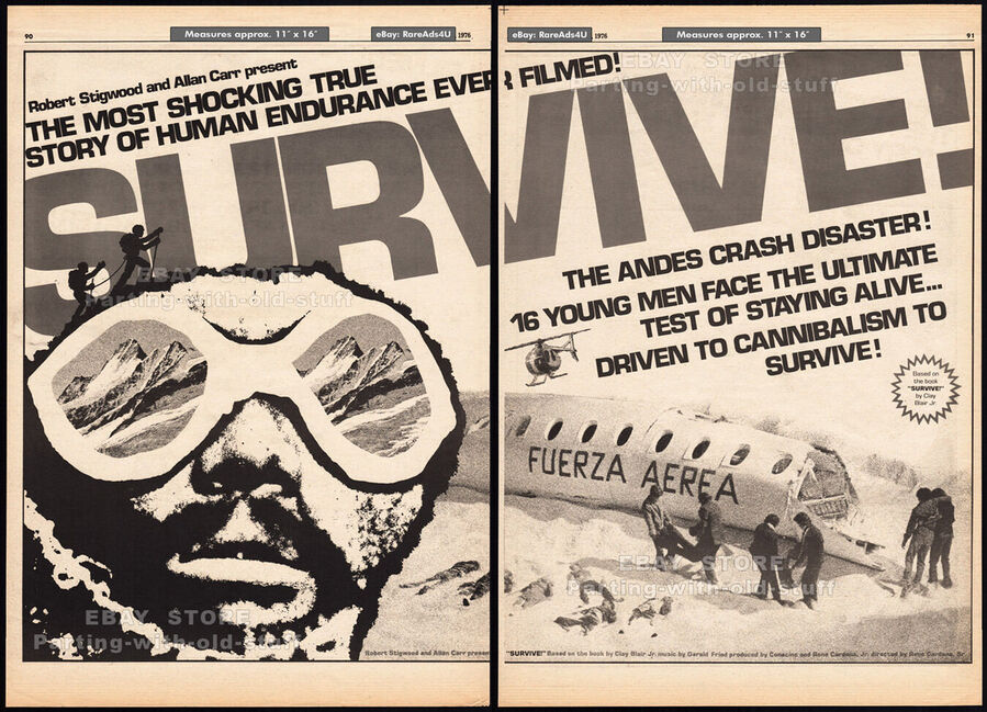SURVIVE BOX OFFICE 1976