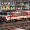 La BB 15022 en stationnement à Mulhouse / Février 2004