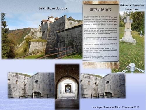 Le château de Joux et Les Fourgs