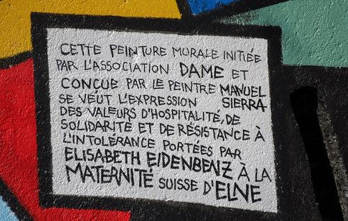 Maternité d'Elne: Hommage De Manuel Sierra