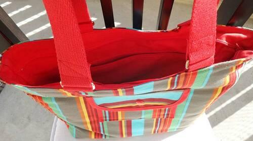 Coudre un sac shopping pour l'anniversaire de ma grand-mère