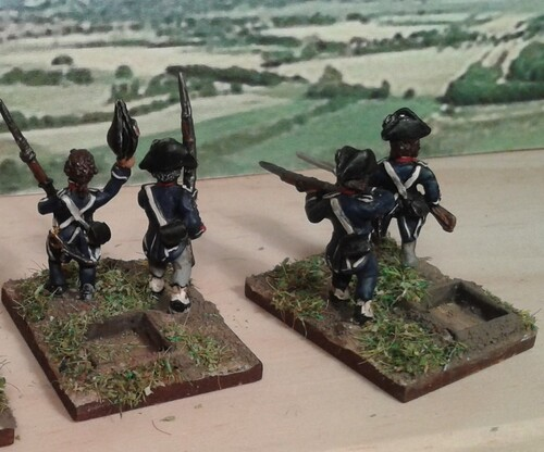 Révolution française: infanterie de complément.