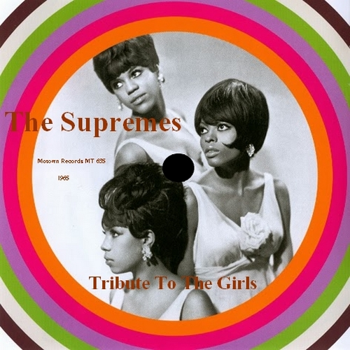 "The Supremes : Album "" Tribute To Girls "" Motown Records MT 635/637 [ US ] Unissued"