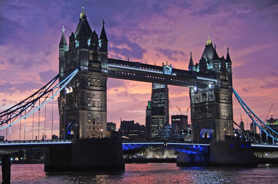 Londres, Tower Bridge, Pont, Monument, Lieux D'Intérêt