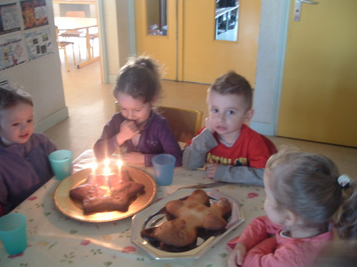 1ier Avril: Loann a 4 ans