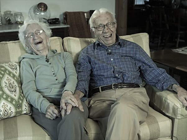 Le vieux couple.