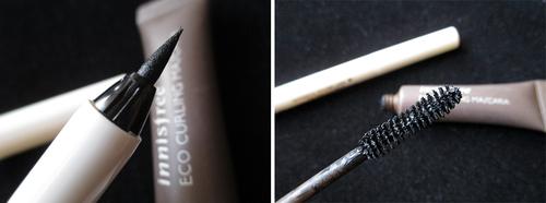 Botanical Volume Liner et Eco Curling Mascara : mon combot simple pour des yeux remarquables...