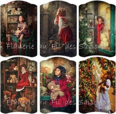 Noël Histoire d'ours ! cartonnettes