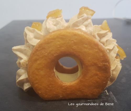 Tartelettes citron/praliné cacahuète