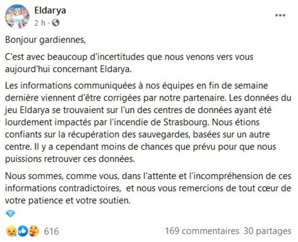 Nouvelles Eldarya