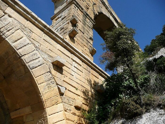 Le Pont du Gard est un Chef d'Oeuvre de l'Architecture antique