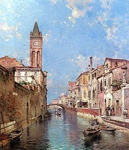 Franz Richard Unterberger Rio St Barnaba Venice ZCI-1531