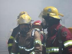 Galerie photos simulation incendie le 10 juillet à Lambton