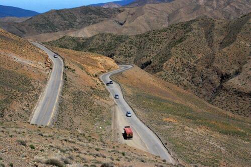 La grande descente vers Marrakech