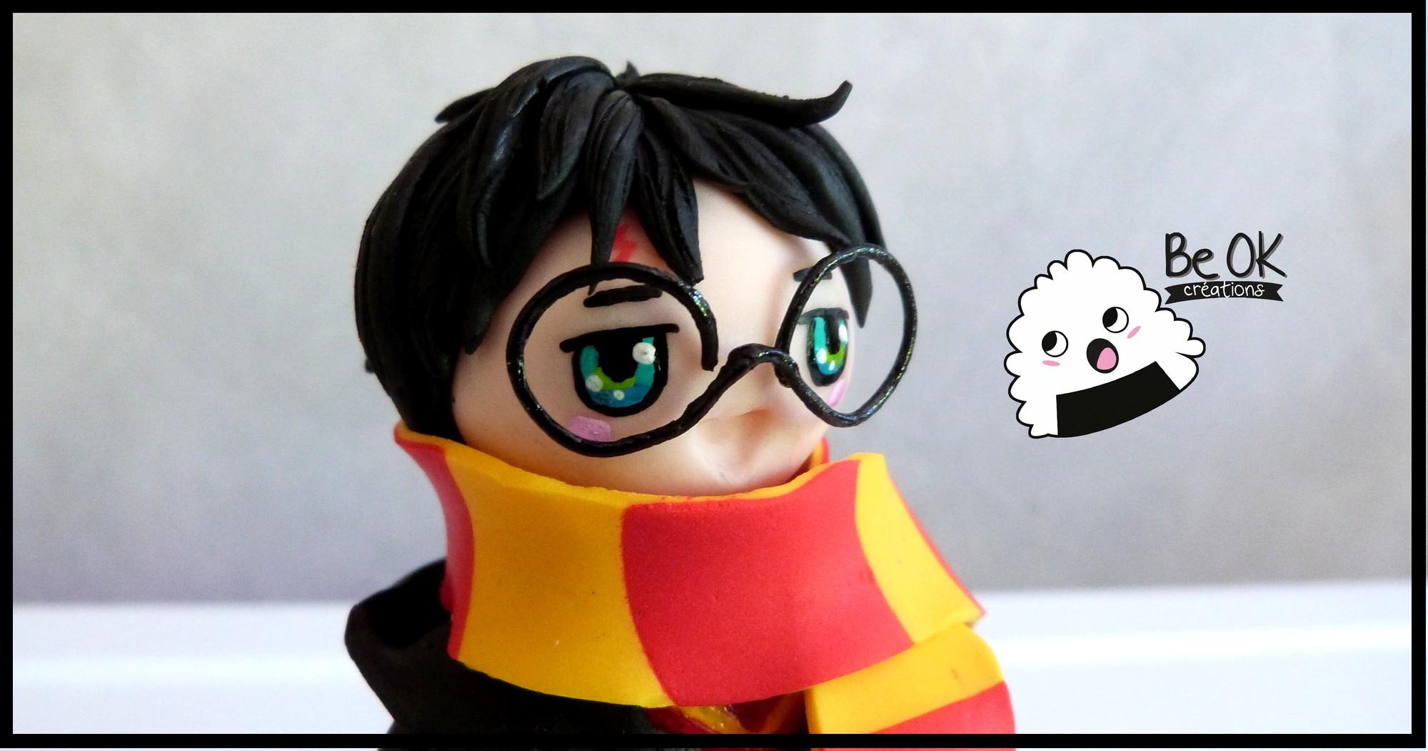Figurine Harry Potter Fimo Be Ok Cr Ations
