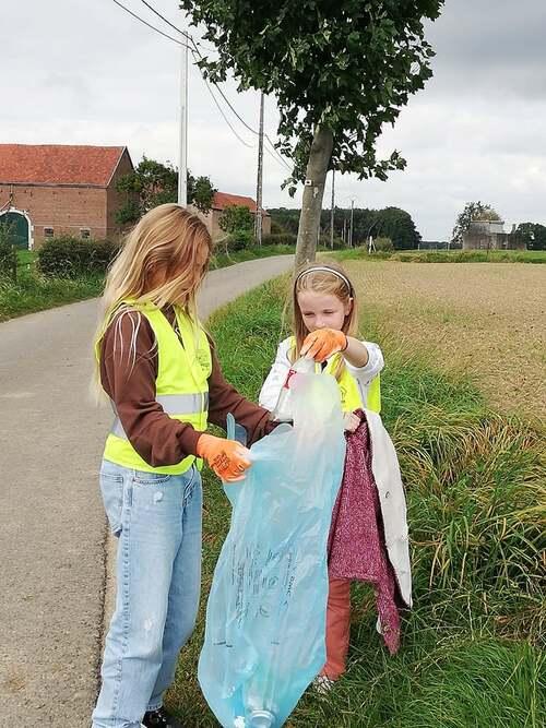 Wallonie plus propre... à Saint-Jean-Sart aussi :-)