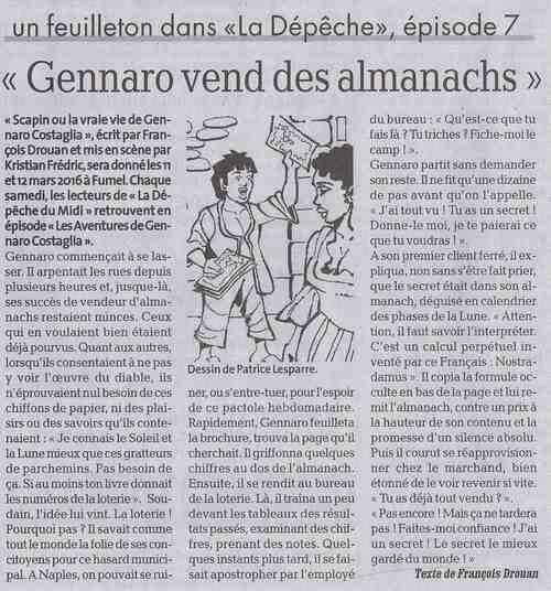 Les aventures de Gennaro Costagliola / Episode 7 / La dépêche