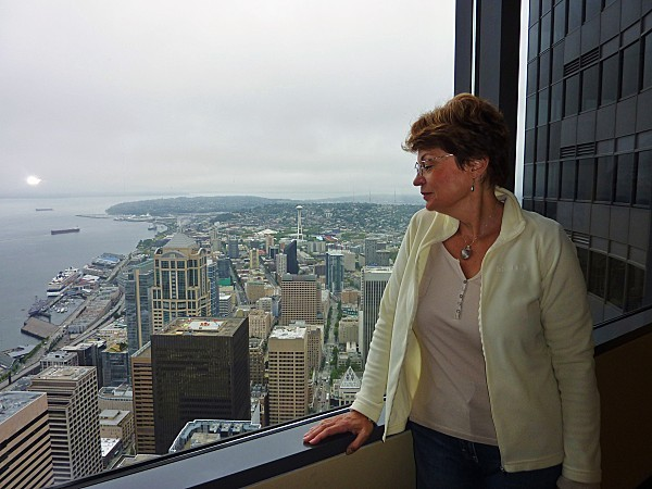 Jour 30 Seattle vue de Bank Tower Martine