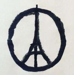 Hommage aux victimes du 13 novemebre 2015