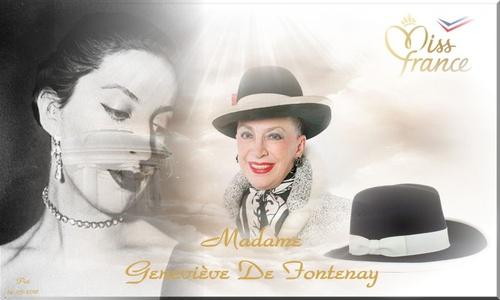 Miss Madame Geneviève De Fontenay