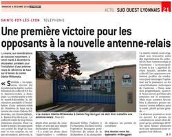 PROBLEMES D'antennes,Ste-Foy-Les-Lyon-69110