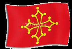 drapeau occitan.
