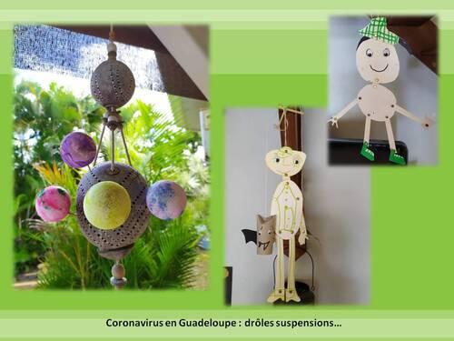 Coronavirus en Guadeloupe : drôles suspensions