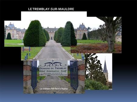 Le rallye Aïcha des gazelles au château du Tremblay-sur-Mauldre