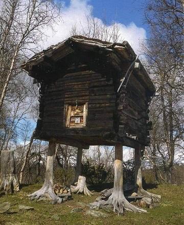 La maison qui a des jambes ...