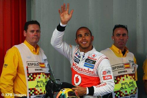 Whitmarsh : Hamilton a été extraordinaire à Barcelone