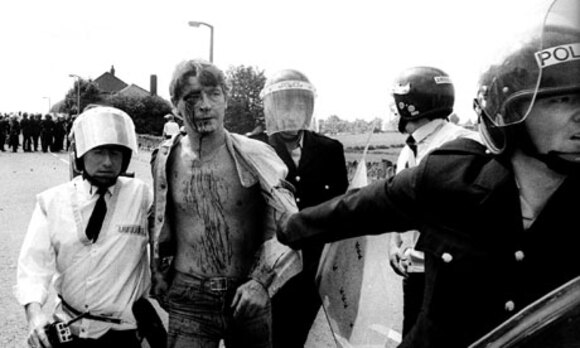 Tribute to the miners' strike 1984-1985