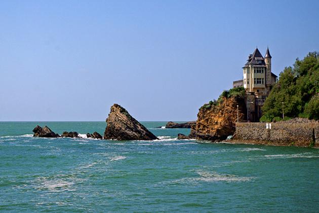 Point de vue sur Biarritz